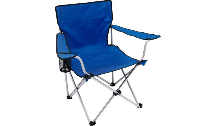 Steel Folding Camping Chair A Carry Bag With Strap For Easy .