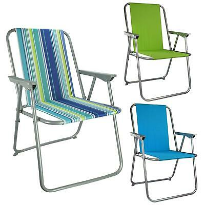 Folding Camping Chairs Heavy Duty Luxury Padded High Back Director .