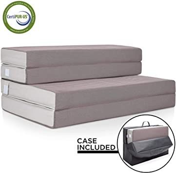 Amazon.com: Best Choice Products 4in Thick Folding Portable Full .
