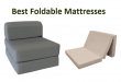 Top 15 Best Foldable Mattresses in 2020 - Complete Gui