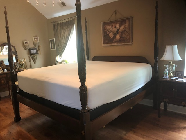 Drexel King Four Poster Bed - Once & Aga