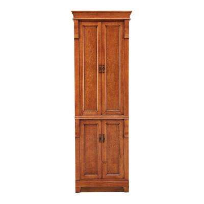 Reddish Brown - Freestanding - Linen Cabinets - Bathroom Cabinets .