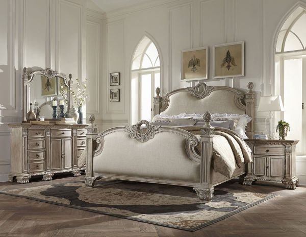 French Bedroom Furniture: A Piece of Classic and Versatile Desi