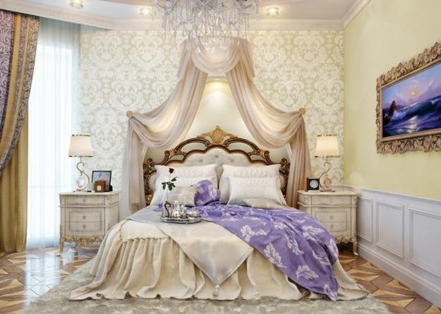 15 Gorgeous French Bedroom Design Ide