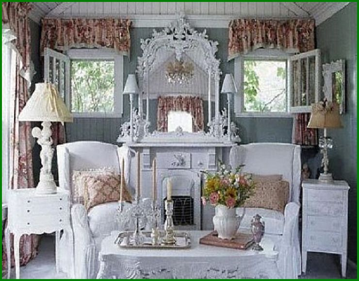 Beautiful Cottage Style Bathroom Ideas #15 - French Country .