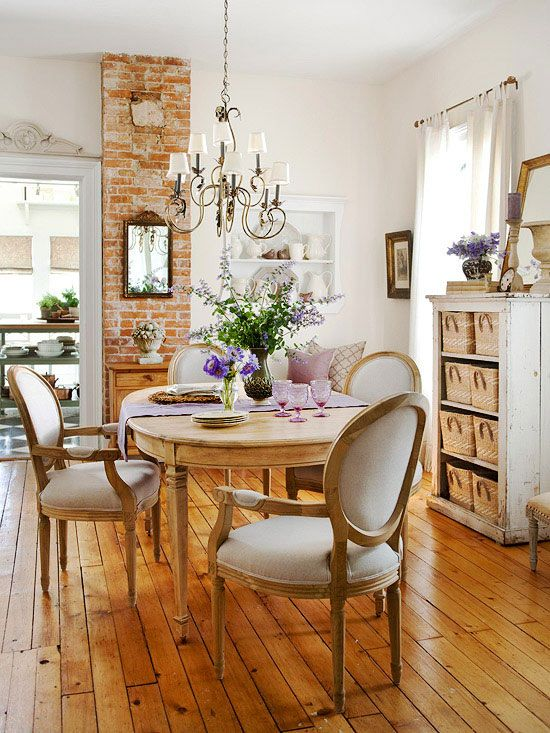 This Vintage-Inspired Makeover Is a Must-See   French country .