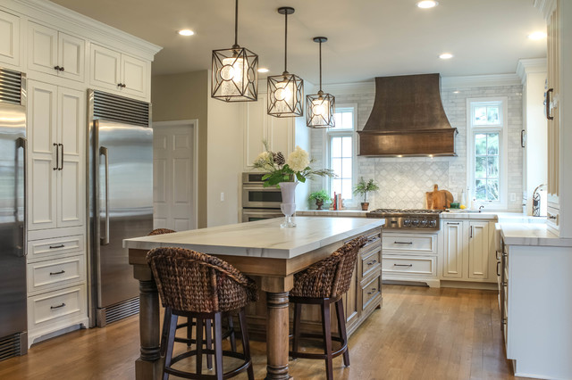 French Country Kitchen in Howell, MI - Mediterranean - Kitchen .