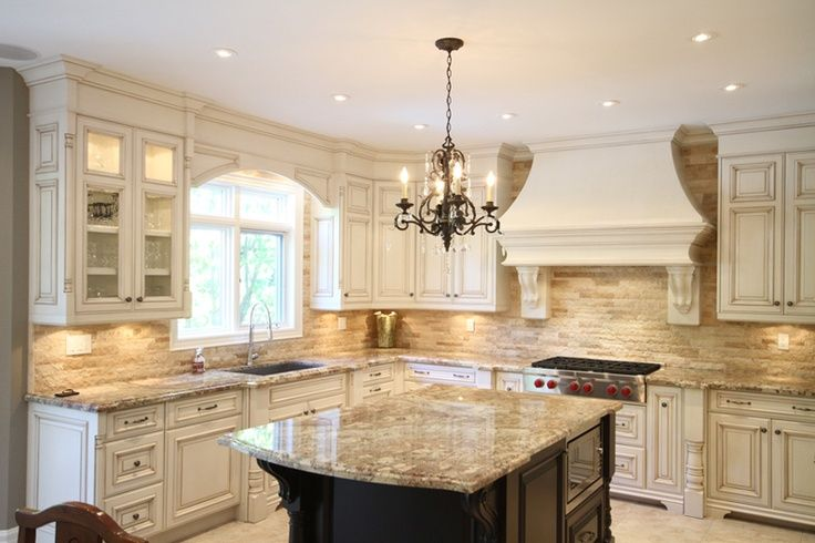 French Country Kitchen Design | Country kitchen designs, Kitchen .