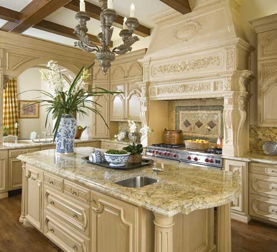Beautiful French Country Kitchen - Dallas Design Group | Country .
