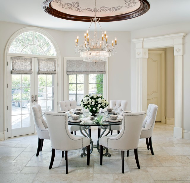 Westlake Village - French Provincial - Traditional - Dining Room .