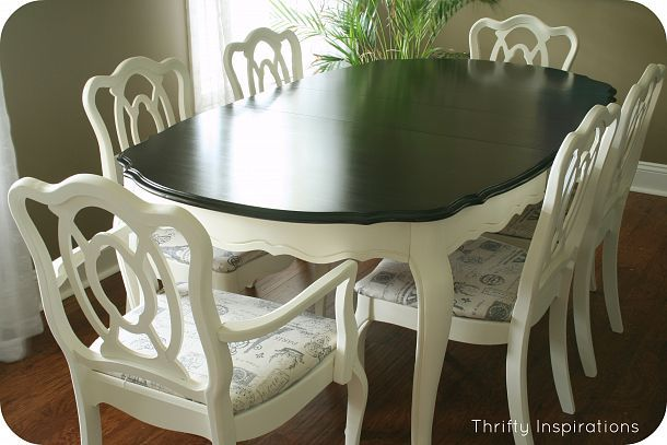 French Provincial Table Set Makeover | French provincial table .