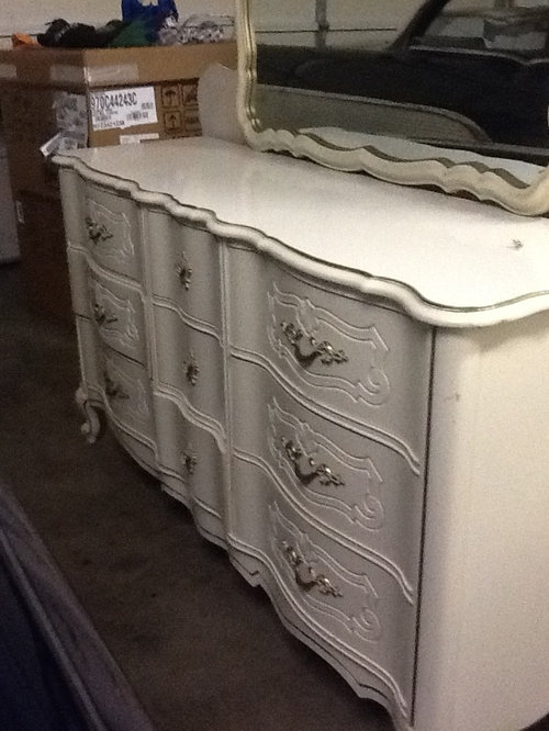 How to refinish my French provincial bedroom se