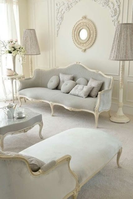 Decorating With The French Cabriole/Cabriolet Sofa | Italian sofa .