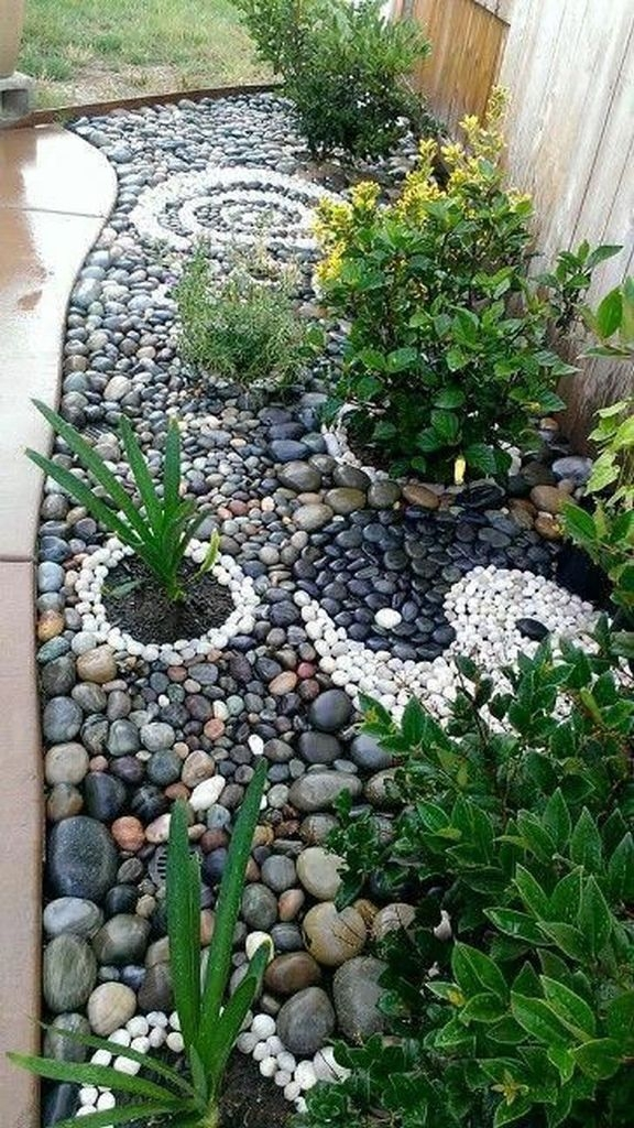 38 Wonderful Front Yard Rock Garden Landscaping Ideas That You .