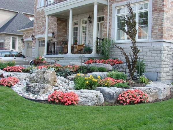 Frontyard Landscaping | Small front yard landscaping, Yard .