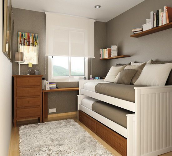 Full Bed Ideas Small Rooms