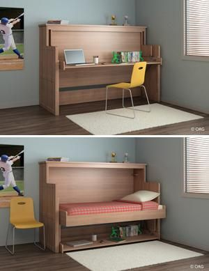 Convertible Furniture for Small Spaces   Multipurpose Convertible .