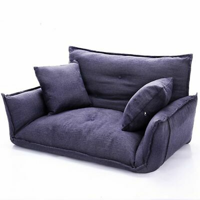 Lazy Sofa Folding Futon Couch Floor Adjustable Soft Chairs .