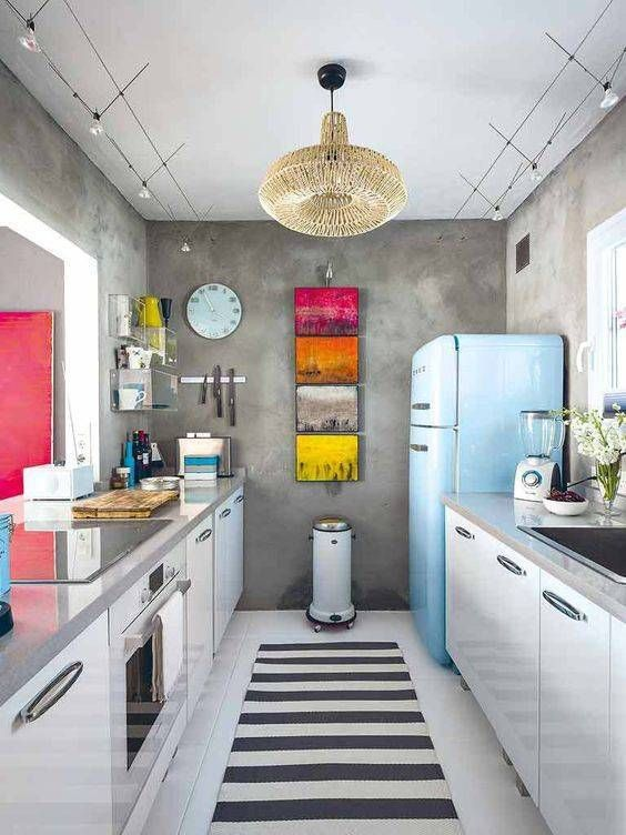 6 Small Galley Kitchen Ideas That Are Straight Up Great | Small .