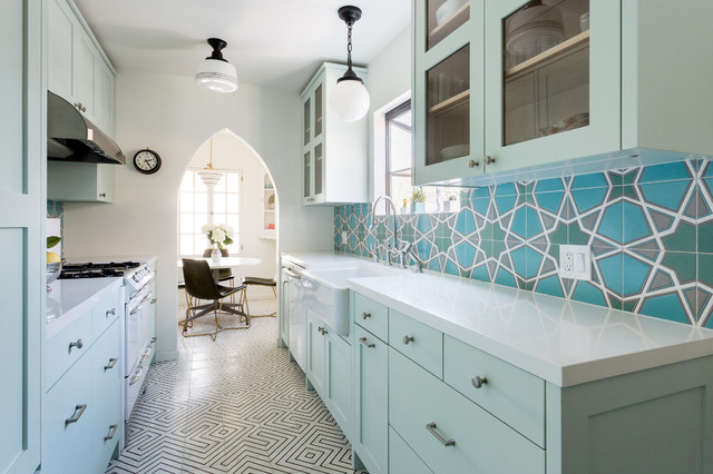 5 Great-Looking Galley Kitchens That Really Co