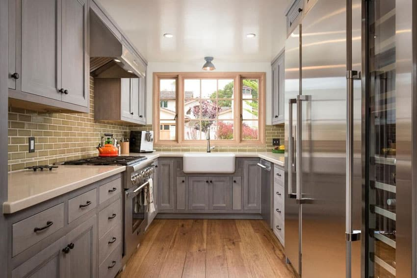 23 Small Galley Kitchens (Design Ideas) - Designing Id