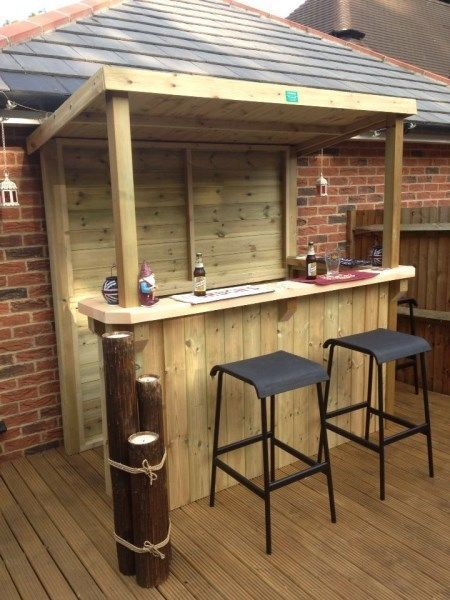 20+ Creative Patio / Outdoor Bar Ideas You Must Try at Your .