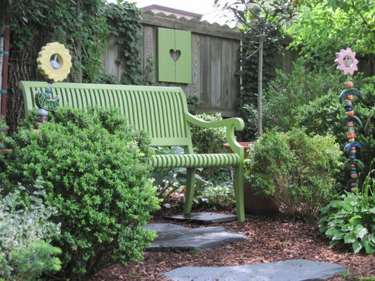 Well Dressed Garden: Benches to anchor your outdoor spac