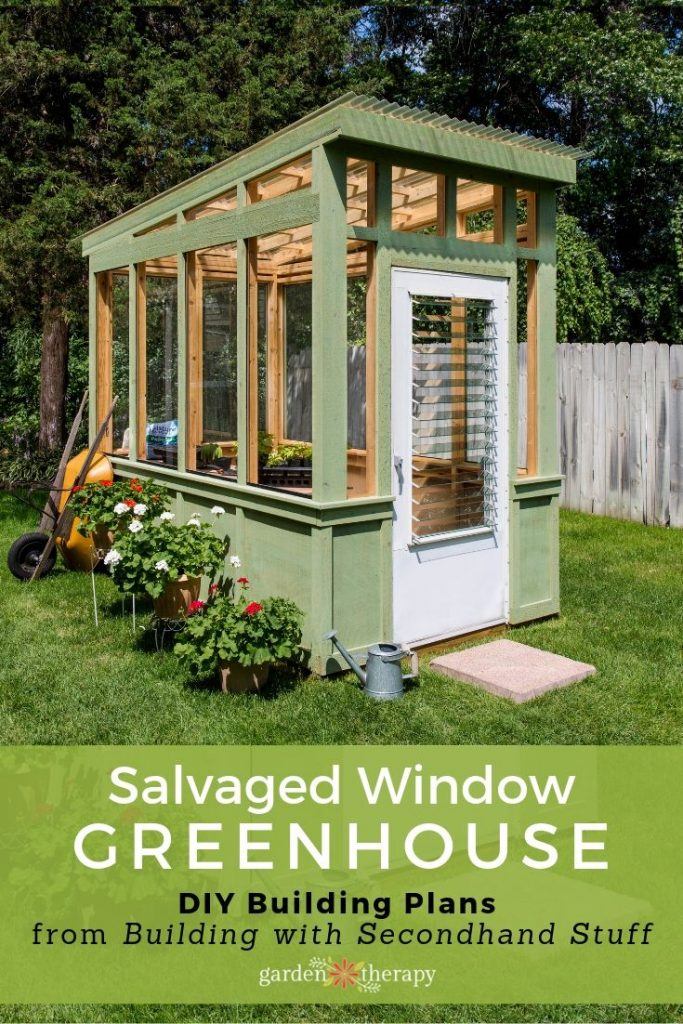 Build an Old Window Greenhouse - Garden Thera