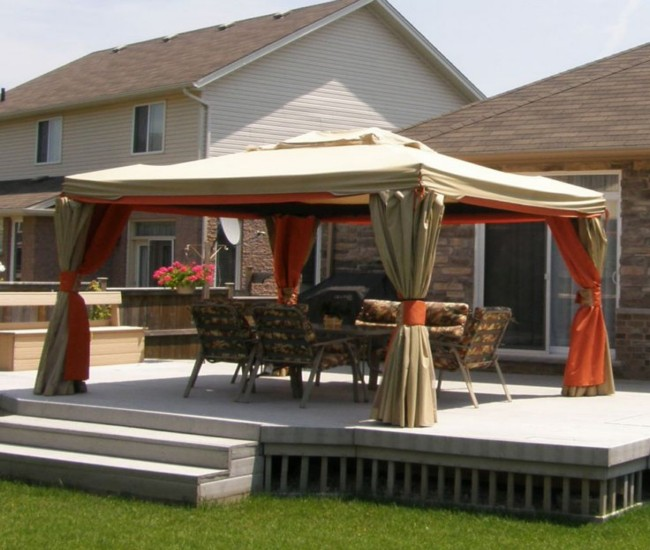 Deck gazebos and canopies | Deck design and Ide