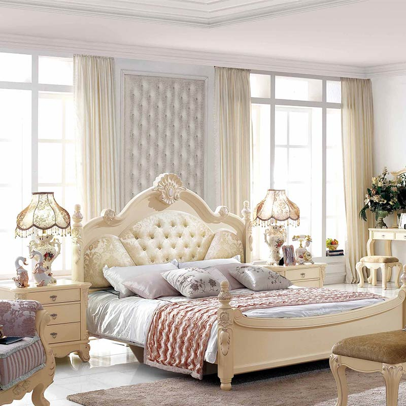 Global hot sell Small Rooms Furniture Teenage Girl Bedroom sets .
