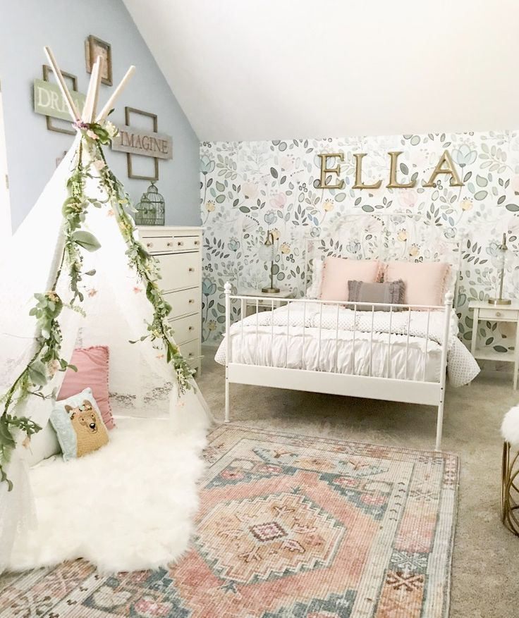 Little Girl Decor and Bedroom Reveal | Big girl bedrooms, Girl .