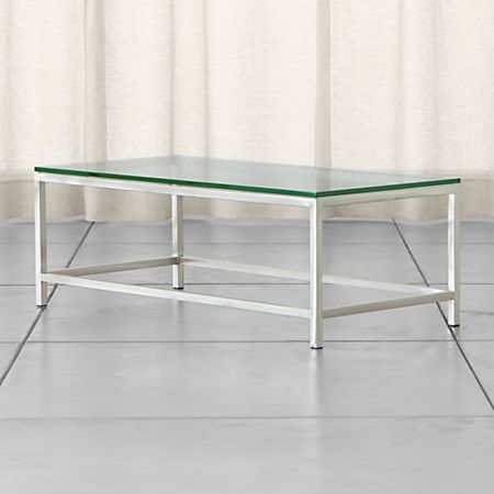 Era Rectangular Coffee Table | Crate and Barr