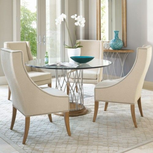 small round glass dining table dining room: brilliant small round .