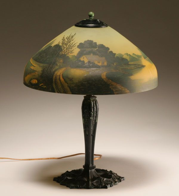 Antique Glass Lamp Shades For Table Lamps — Design And Ideas .