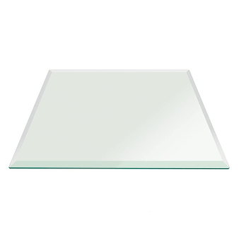 Square Glass Table Top - Discounted Square Glass Tops for Dining Tab