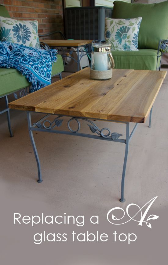 Replacing a glass table top (With images) | Patio table top, Glass .