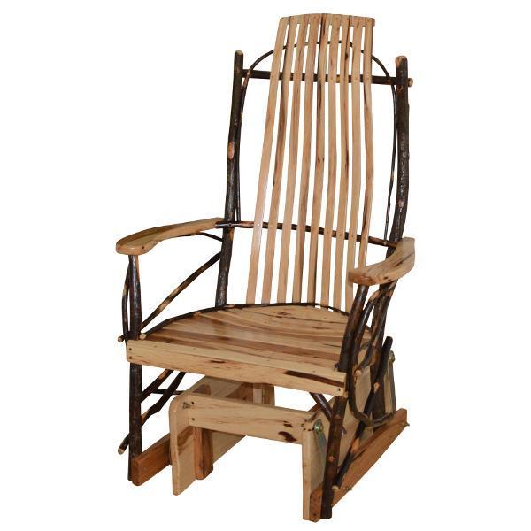 Buy the A & L Furniture Hickory Glider Rocker Online - The .