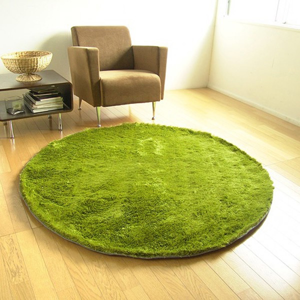 Grass Rug: A Rug That Looks Like It's Made From Grass (Hint: It's No