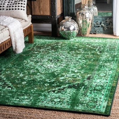 Buy Green Nuloom Area Rugs Online at Overstock | Our Best Rugs Dea