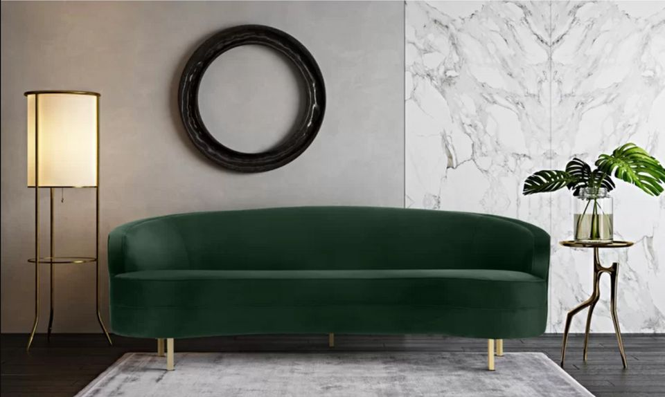 Where To Buy An Emerald Green Couch On Any Budget | HuffPost Li