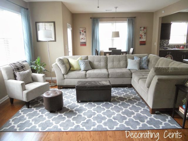 New Family Room Rug   Living room rug placement, Rugs in living ro