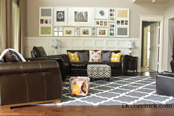 Our New Living Room Rug! - Decorchic