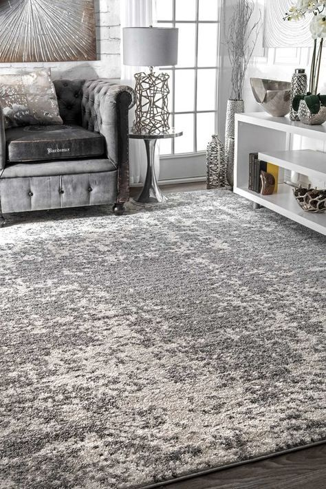 Bloom Gray Area Rug   Rugs in living room, Contemporary rugs .