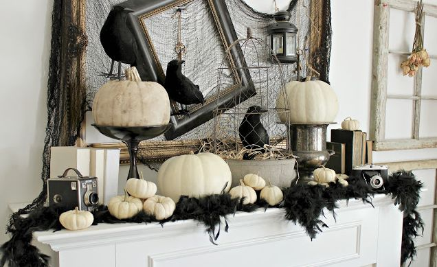 Modern Halloween Home Decor/ Halloween Decorating Ideas/ Outdoor .