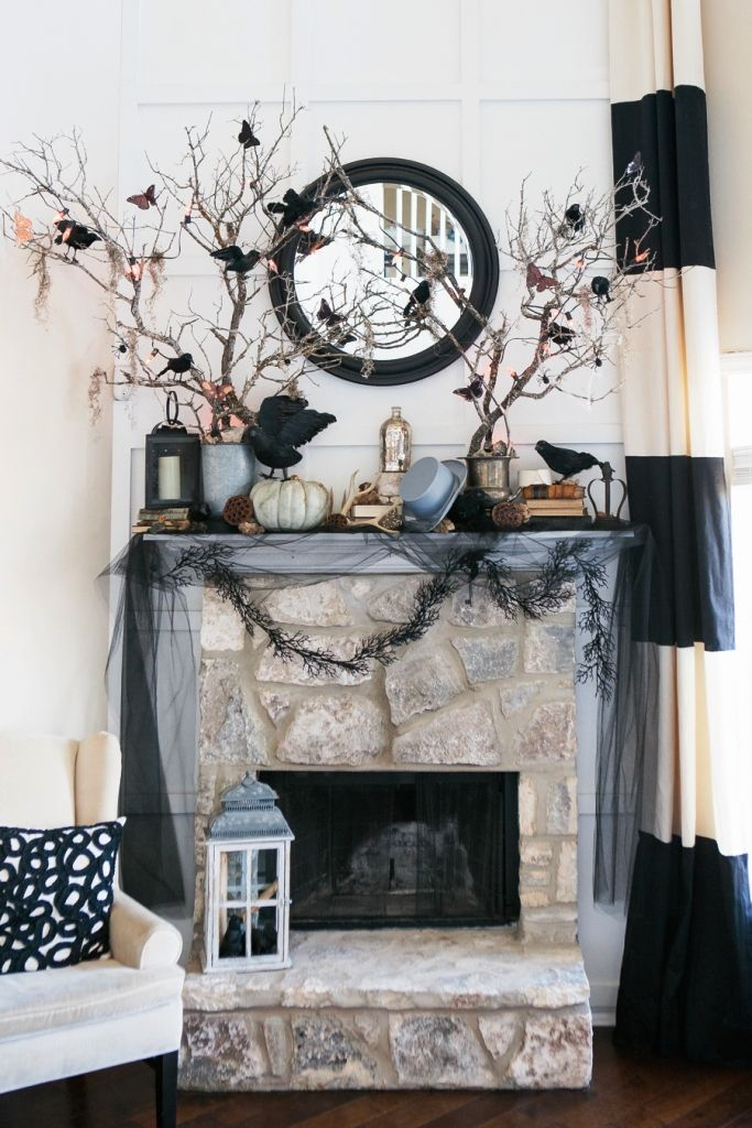 Latest 15 Classy Halloween Decorations Ideas | Halloween living .