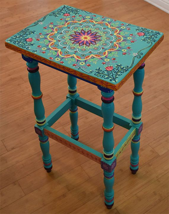 Made to Order. SOLD. This is an example. Hand painted furniture .