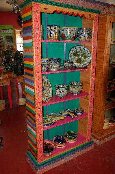Hand Painted Furniture | COSAS Online | Mexican Folk Art, Boerne .