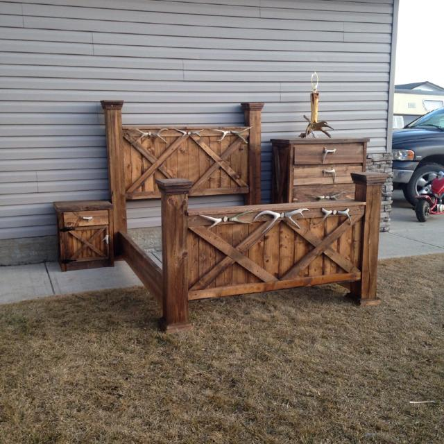 Best Rustic Handmade Beds, Beds Sets And Furniture By Beau . for .