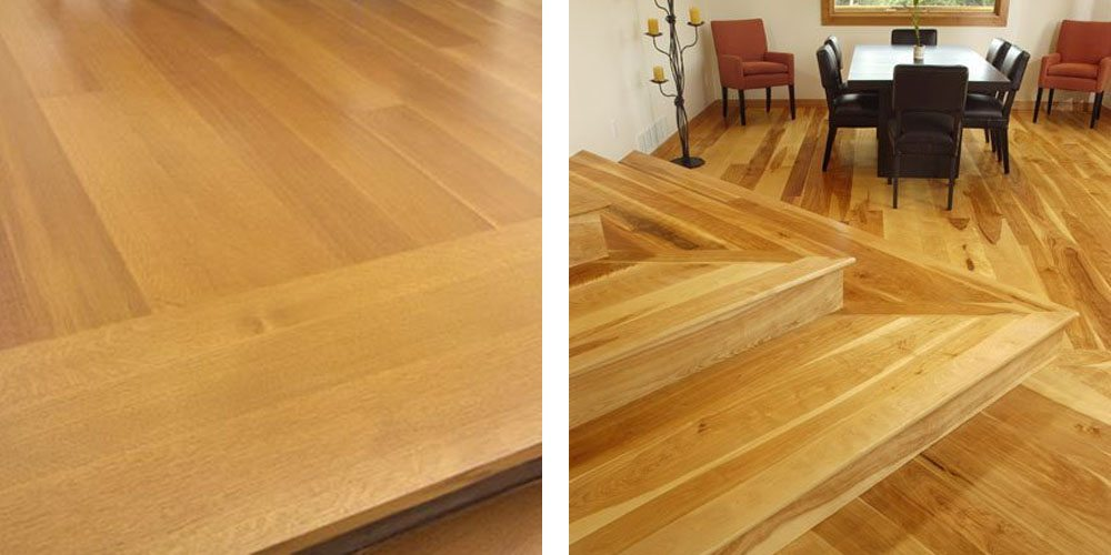 Design Ideas for Stairs to Match your Custom Hardwood Floo