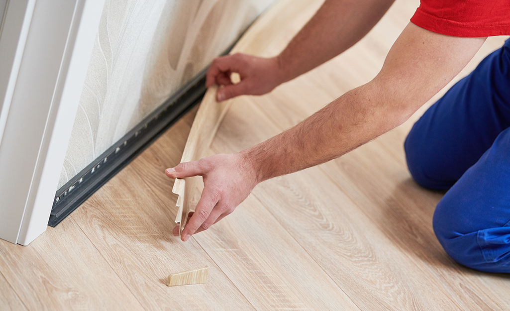How To Install Hardwood Flooring - The Home Dep